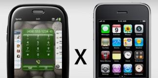 iPhone e Palm Pre Disputam o Amor e o Ódio dos Clientes