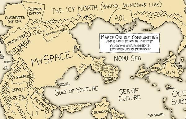 As Comunidades Online