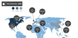 A Apple Store no Mundo