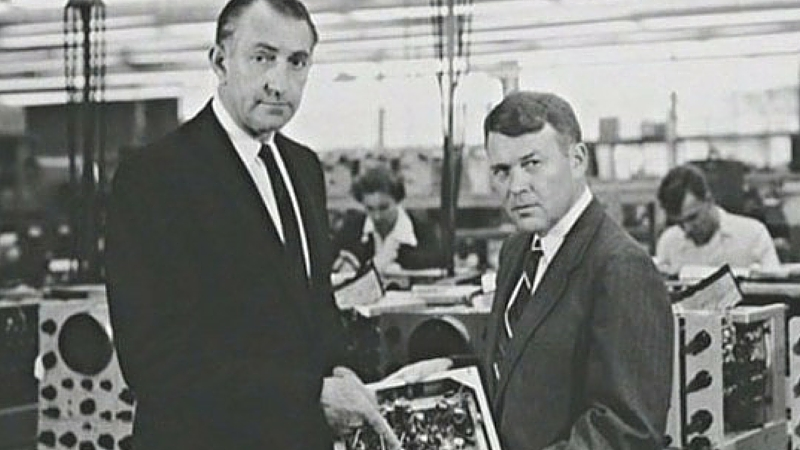 Bill Hewlett e Dave Packard