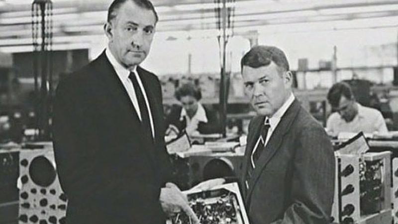 Bill Hewlett e Dave Packard