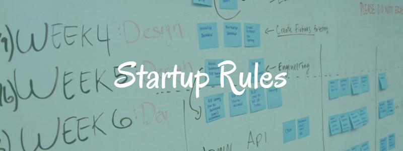 Startups Rules