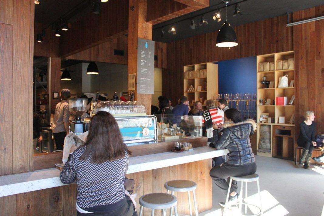 Blue Bottle Coffee Brooklyn Shop