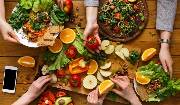 Comprar comida vegana pela internet