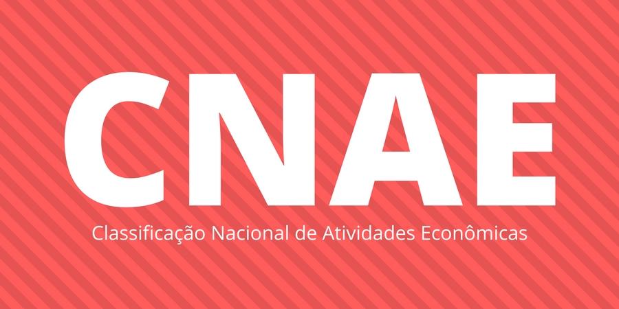 CNAE - Classificação Nacional de Atividades Econômicas
