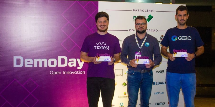 Vencedores do Demo Day 2019
